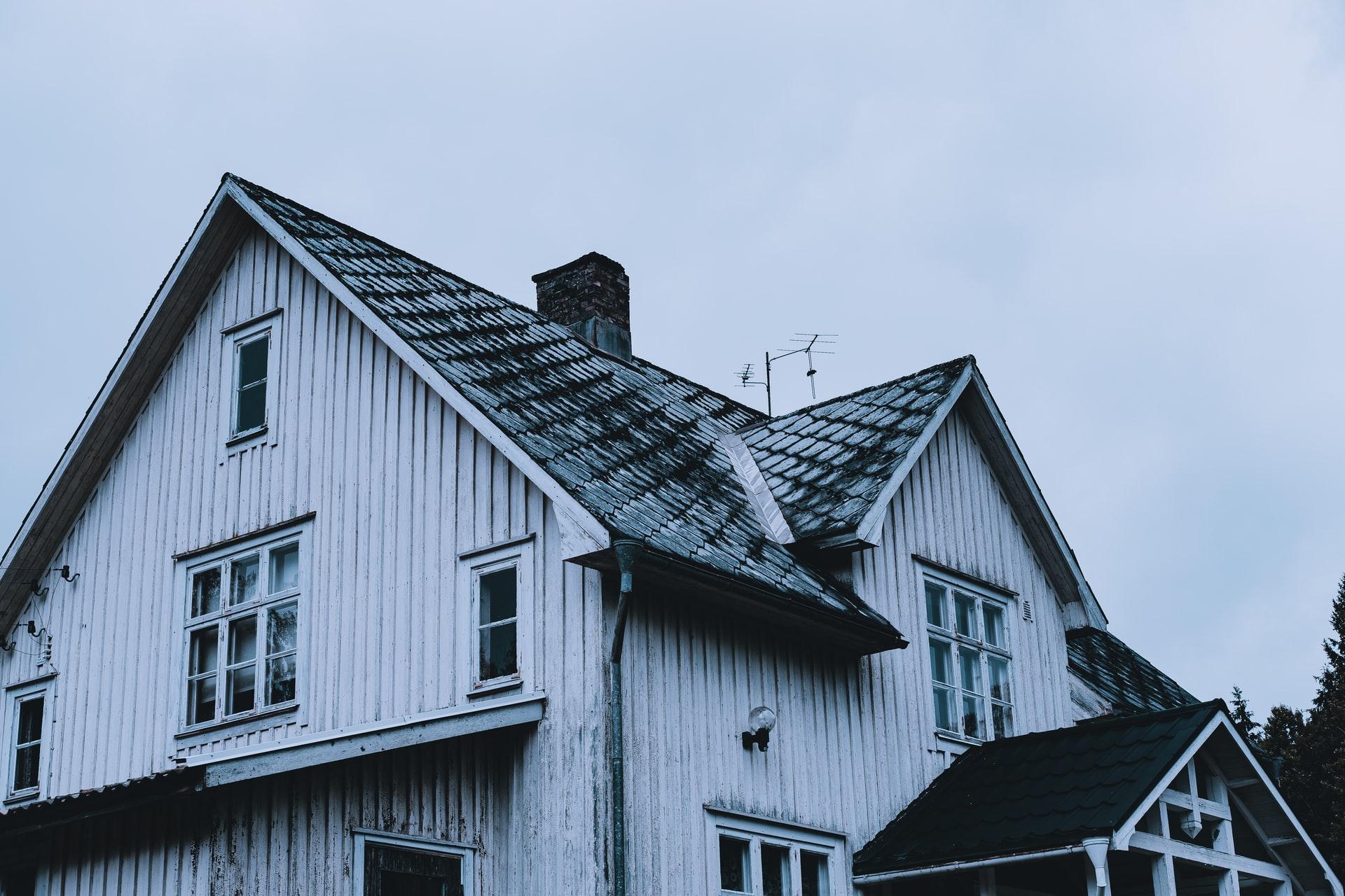 Blåbetong i hus